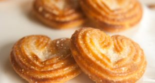 recettes biscuits palmiers